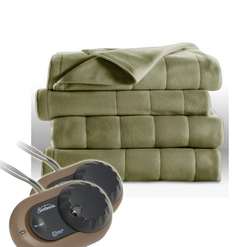 Sunbeam H10 Heated Electric Blanket Royal Dreams Quilted ...