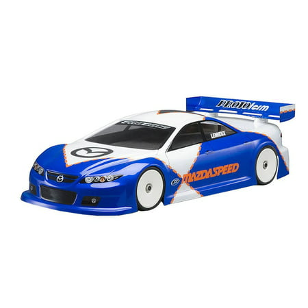 (Pro-Line Racing 1487-00 Mazda Speed 6 Clear Body Regular, Made from durable/ genuine .030 Lexan By Proline Racing)