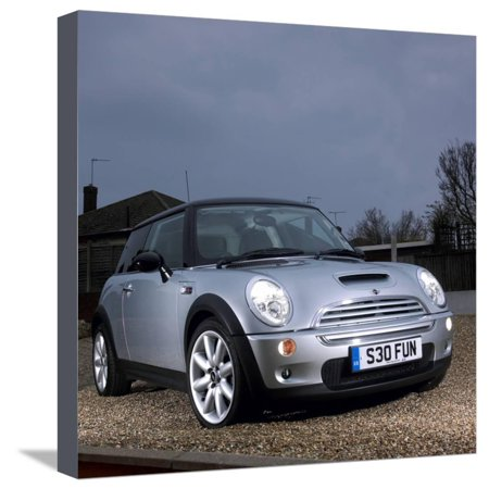2003 Mini Cooper S Stretched Canvas Print Wall (Stretch Mini Cooper)