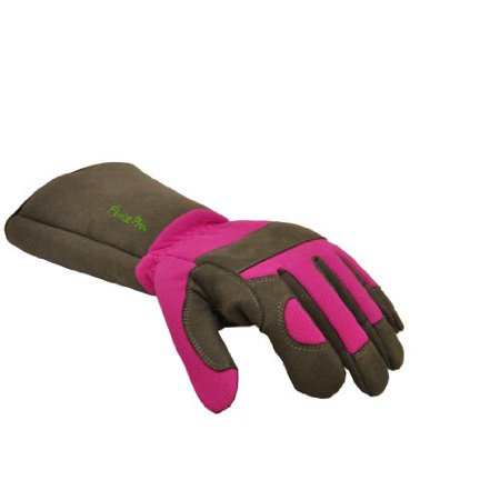 G & F 2430M Florist Pro Long Sleeve Rose gardening Gloves, Thorn Resistant Garden Gloves, Rose Pruning Gloves - Women's
