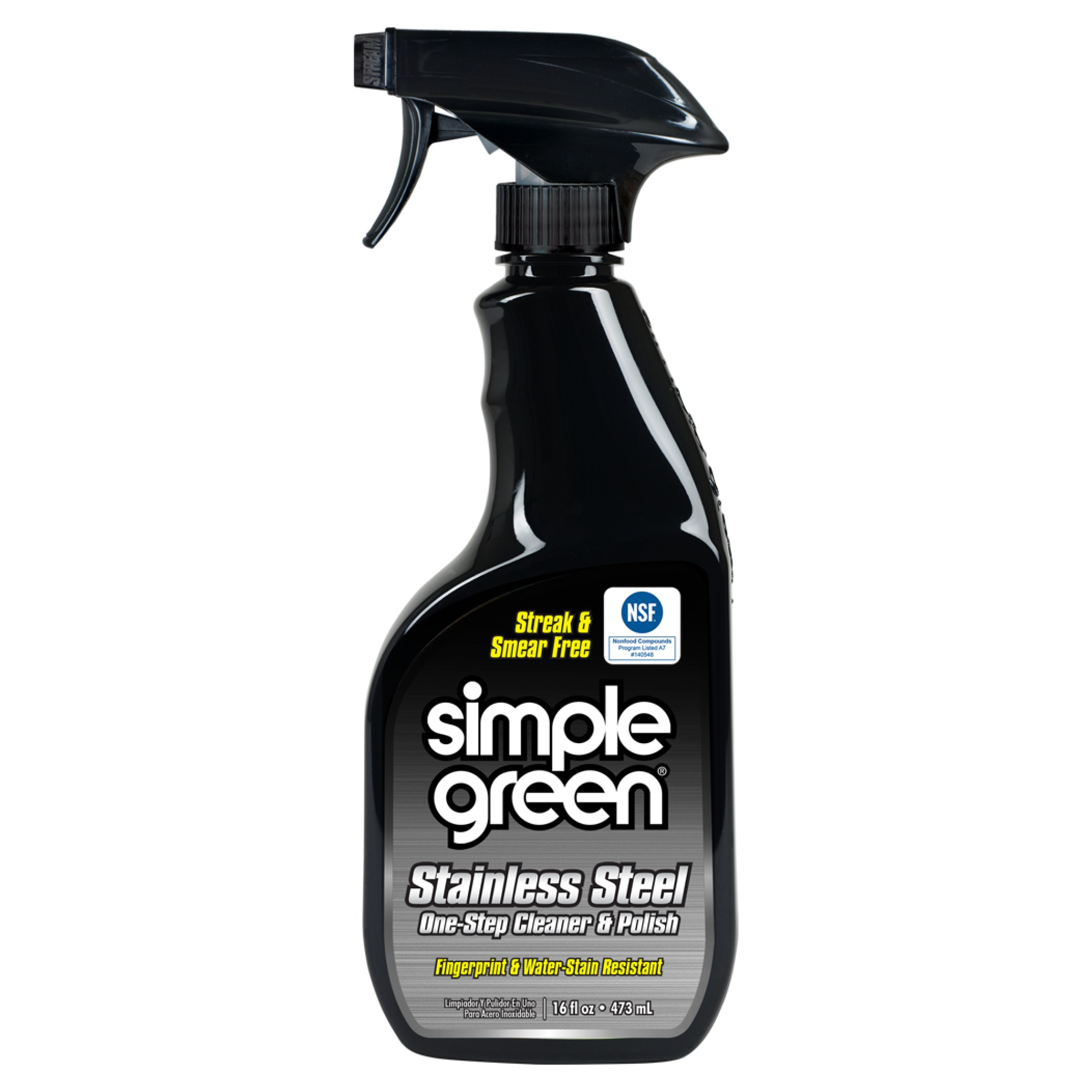 Simple Green Stainless Steel One-Step Cleaner And Polish, 16 Oz