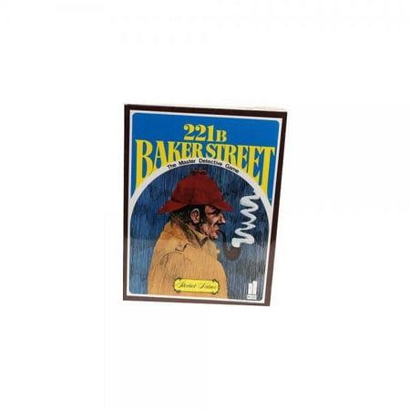 221b Baker Street Game - Baker Street Mystery Game Board Game