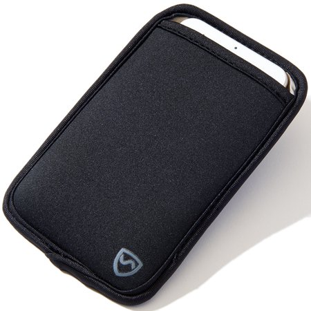SYB Phone Pouch, EMF Protection Sleeve for Cell Phones up to 3.25' Wide,