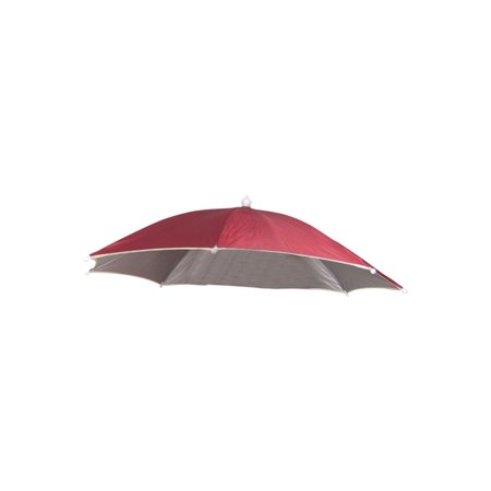 Hands Free Fishing Beach Sports Umbrella Hat Deep Red](Hat Umbrellas)