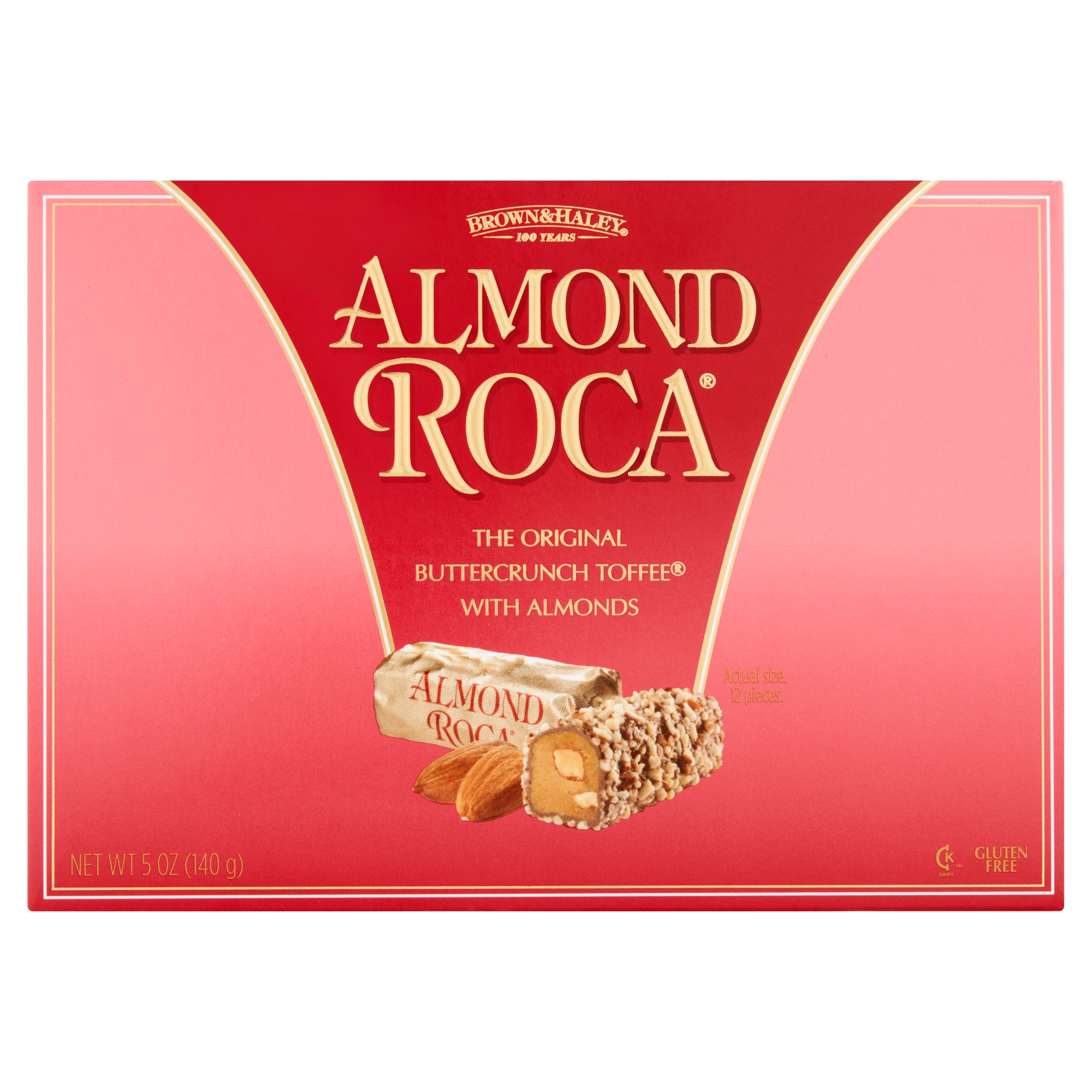 Brown & Haley Almond Roca The Original Buttercrunch Toffee with Almonds, 5 oz by Brown & Haley