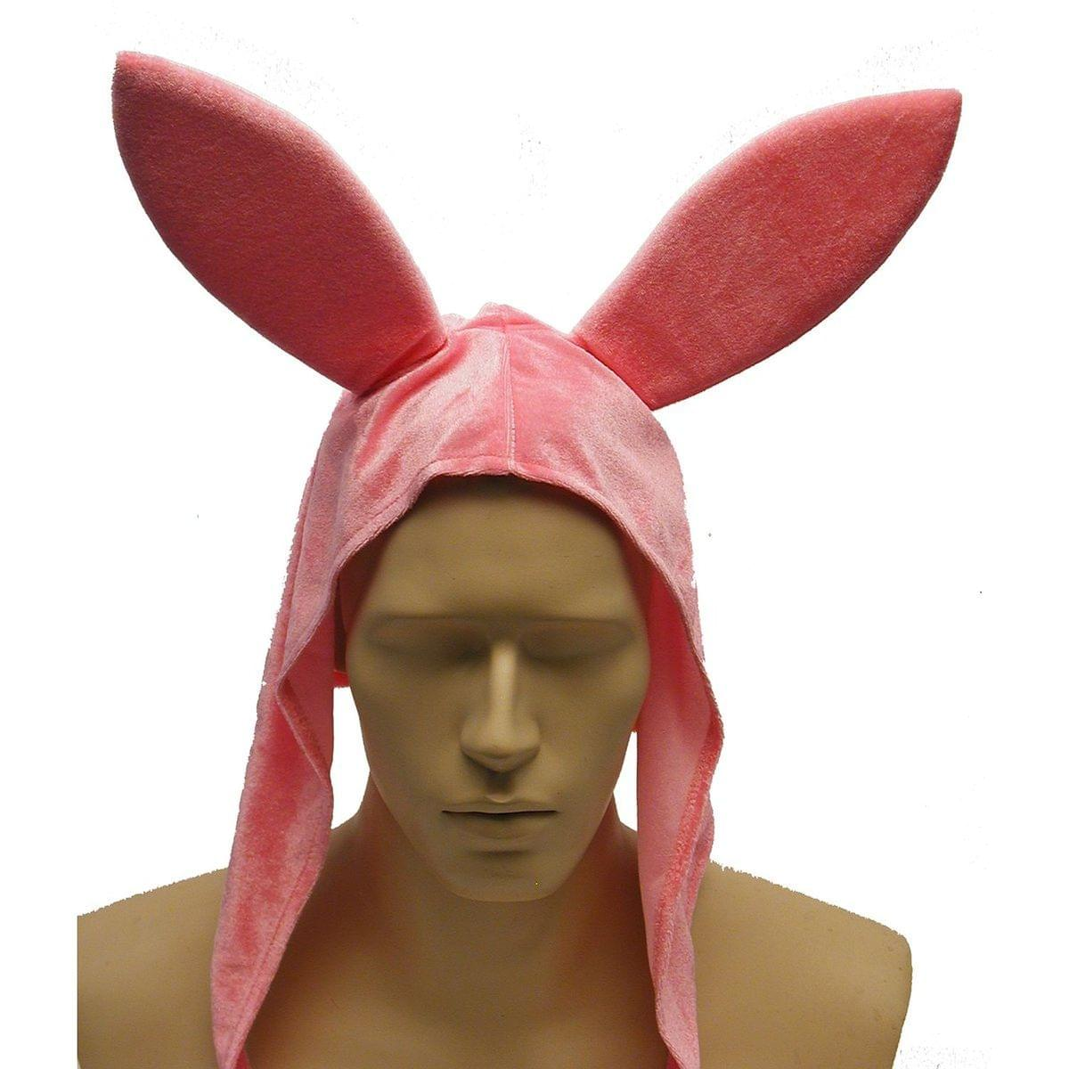 Pink Bunny Costume Hat