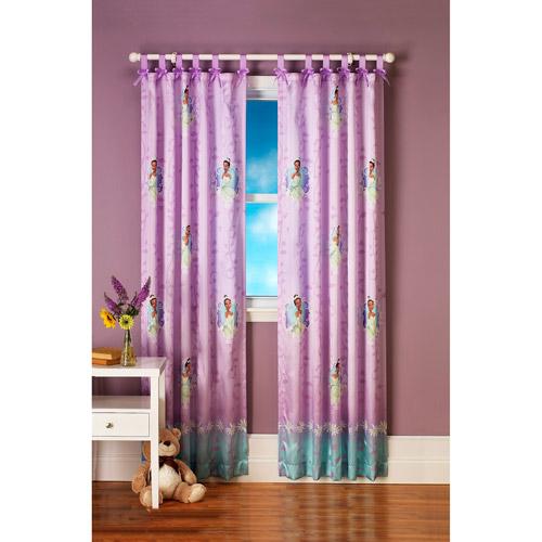 Disney Princess and the Frog Fairy Tale Dreams Bow-Tab Curtain Panel