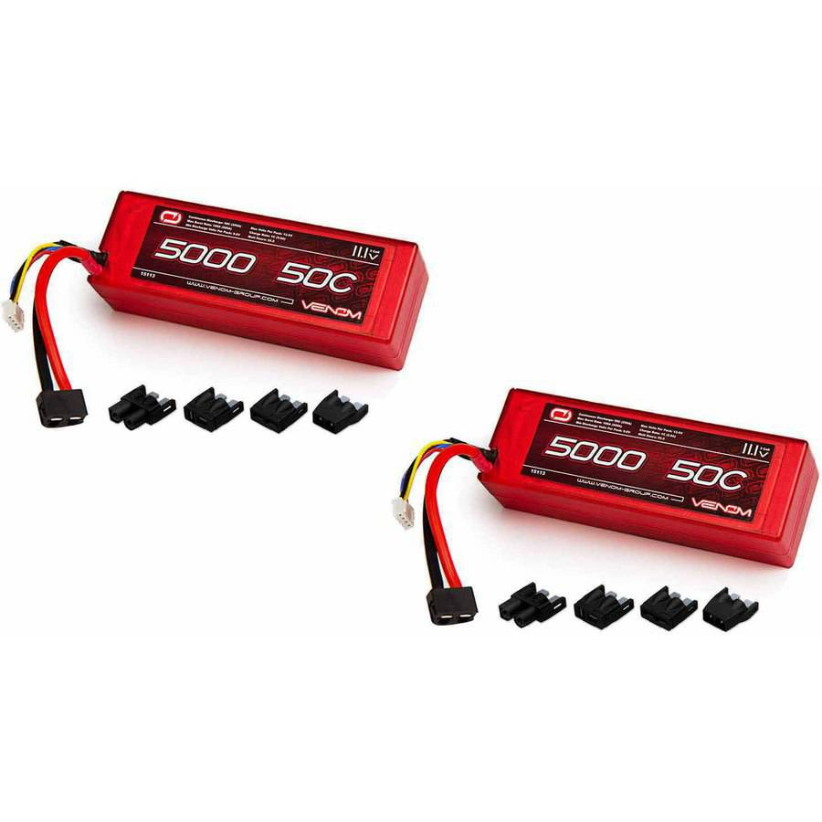 Venom 50C 3S 5000mAh 11.1 LiPO Hardcase Battery with Univ...