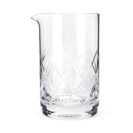 - Cocktail Mixing Glass, Professional Extra Large Crystal Vintage Mixing Glass