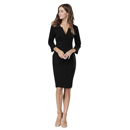 Women Wear to Work Business Party Bodycon One-Piece