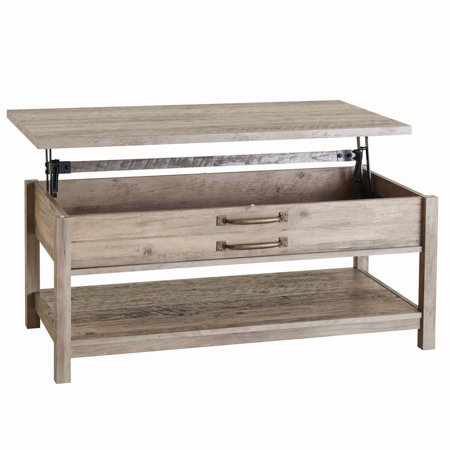 Better Homes And Gardens Modern Farmhouse Lift Top Coffee Table Rustic Gray Finish Best