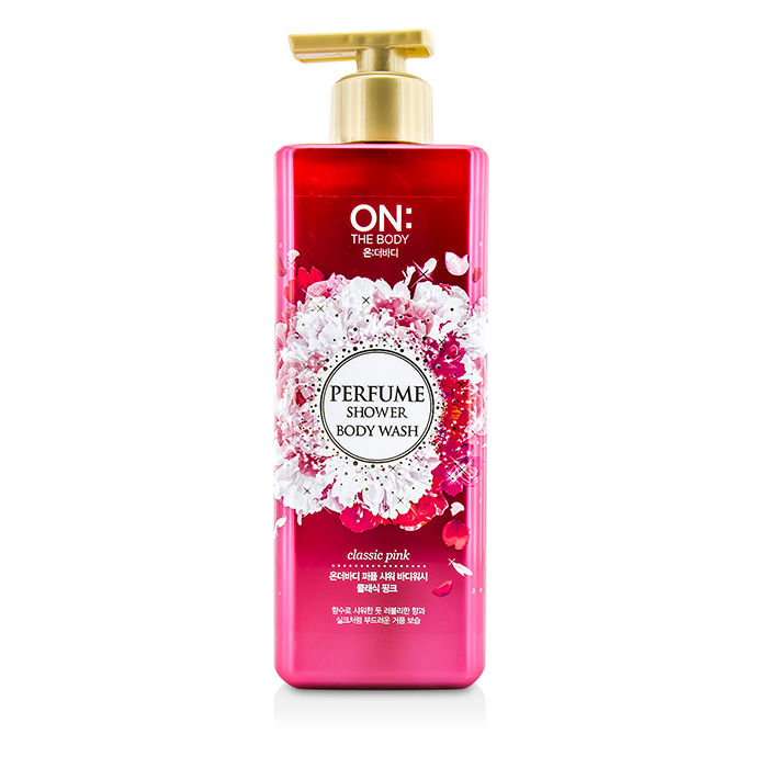 ON THE BODY - Perfume Shower Body Wash - Classic Pink - 500g/17.6oz