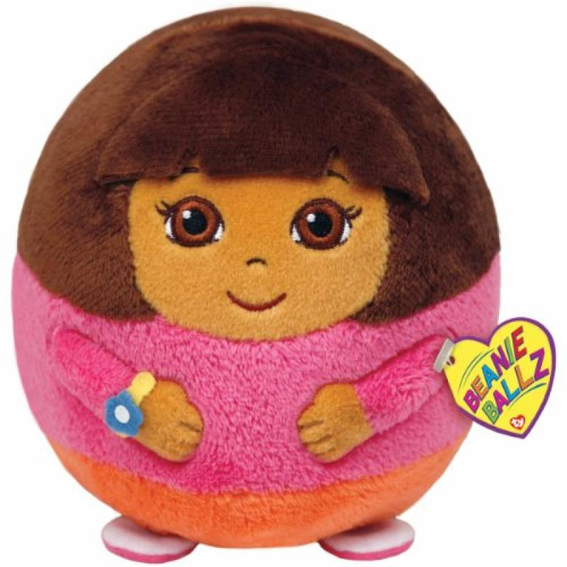 Ty Beanie Ballz Dora Plush Large by TY