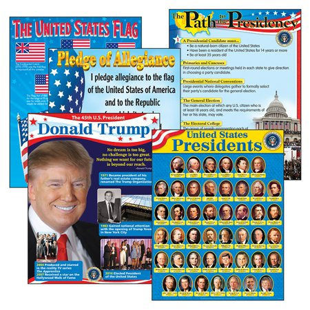 US PRESIDENTS LEARNING CHARTS COMBO PACK Weather Charts Combo Pack