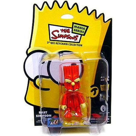 The Simpsons Mania Series Bart Simpson Qee Keychain - Bart Simpson Costumes