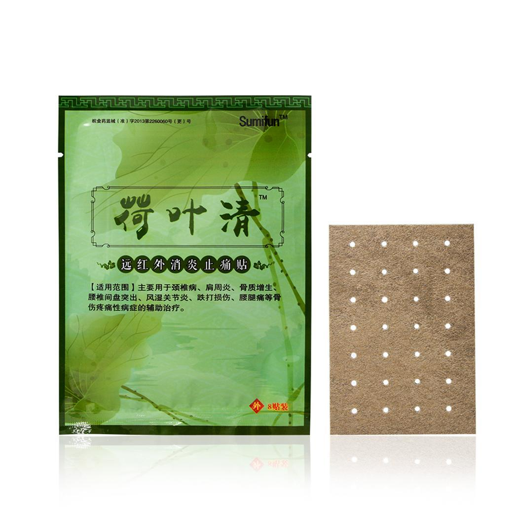 CLEARANCE! 8PCS/Bag Back Pain Patch Plaster Medicated Relief Pain Health 8 Patches SPHP