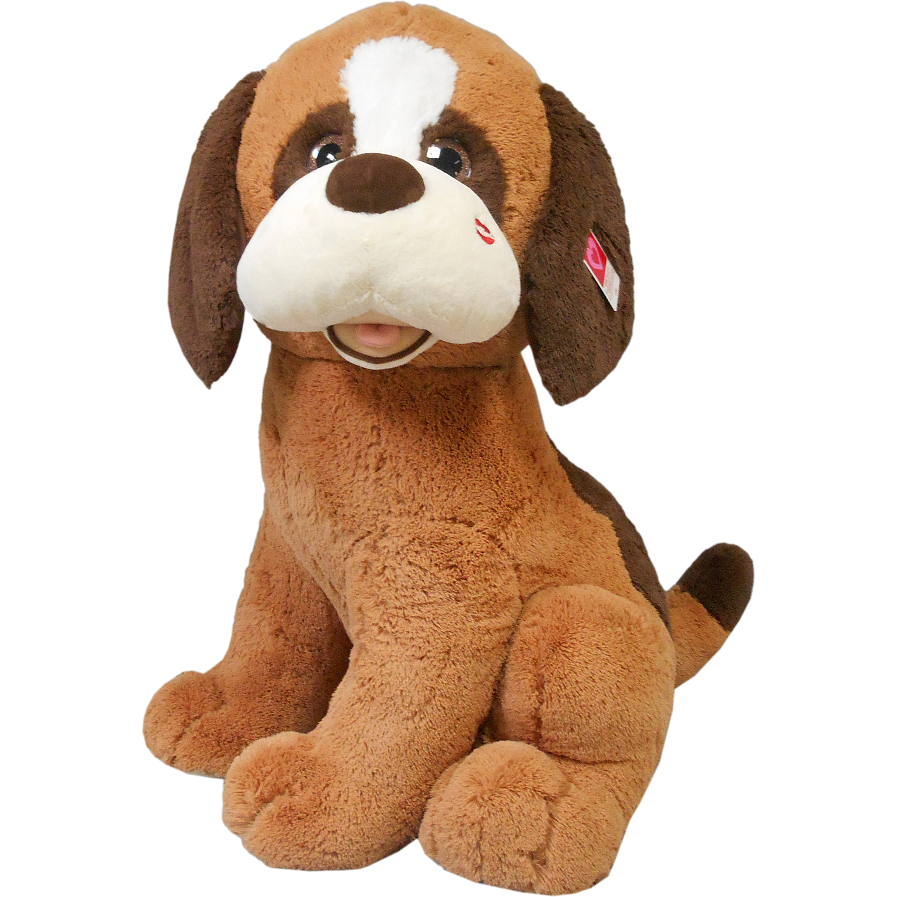 Valentine's day jumbo 3ft st.bernard puppy plush Gift