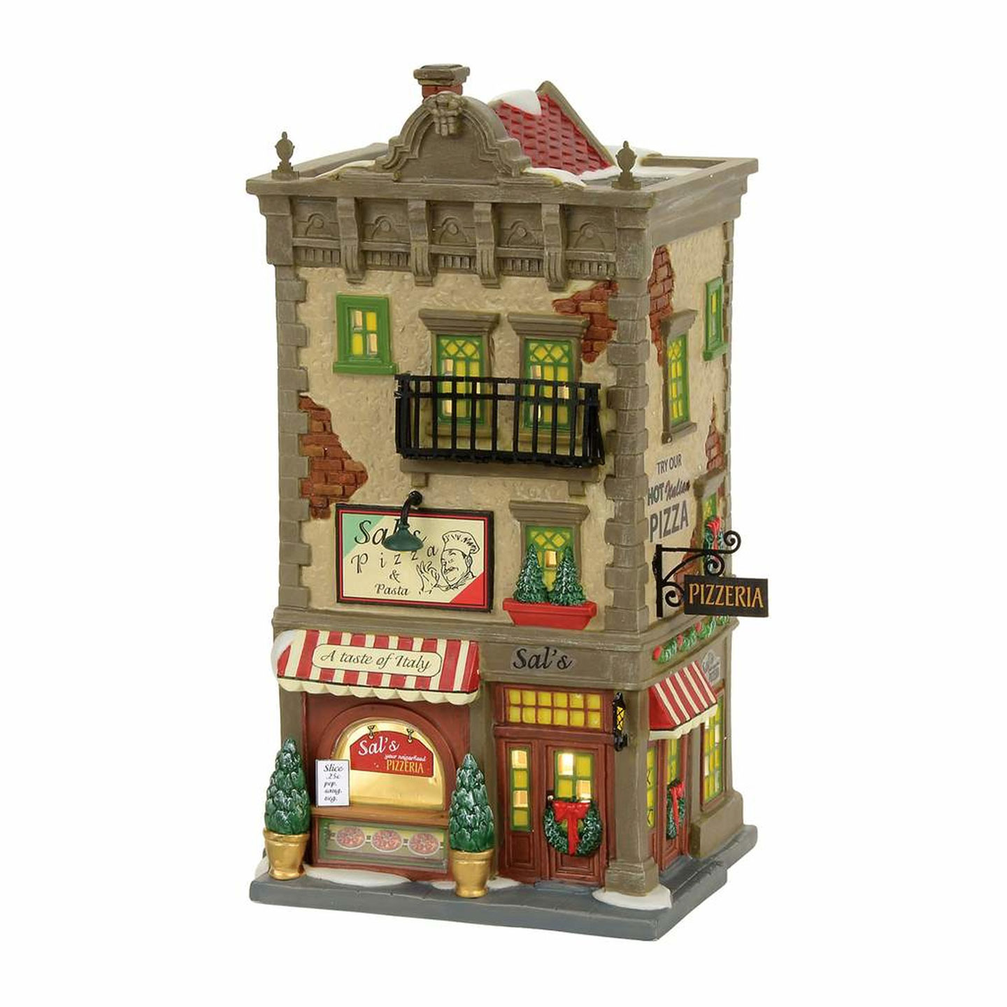 ENESCO Dept 56 Christmas in the City 4056623 Sal's Pizza ...