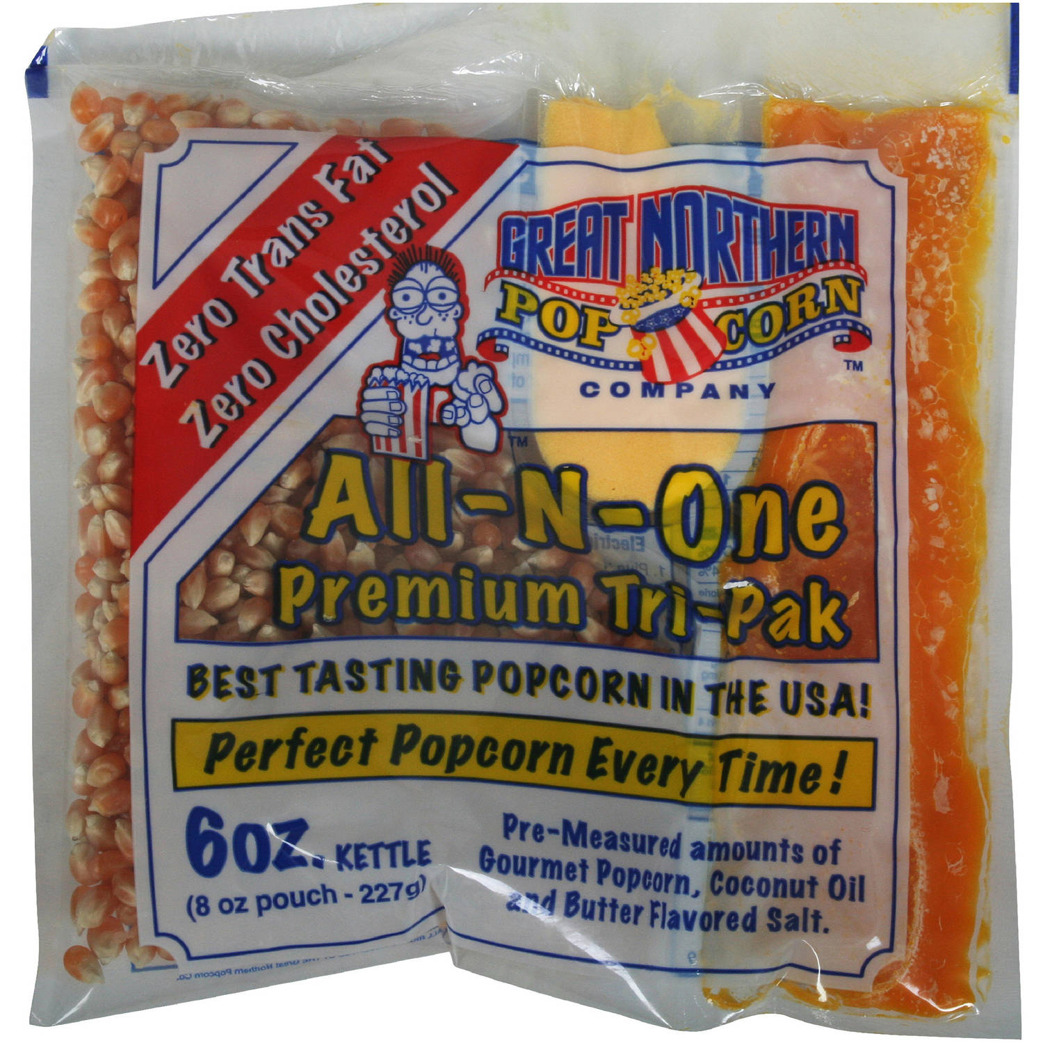 Great Northern Popcorn Case Portion Packs, 24 Count, 6-Ounce by Great Northern Popcorn