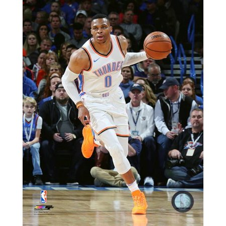 Russell Westbrook 2017-18 Action Photo (Westbrook Outlets Stores)