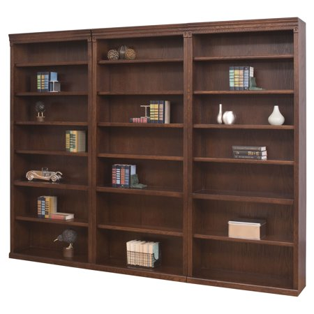 kathy ireland Home by Martin Huntington Oxford Wood Wall Bookcase