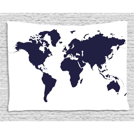 Map tapestry indigo colored graphic map of the world vivid display map tapestry indigo colored graphic map of the world vivid display international global theme gumiabroncs Images