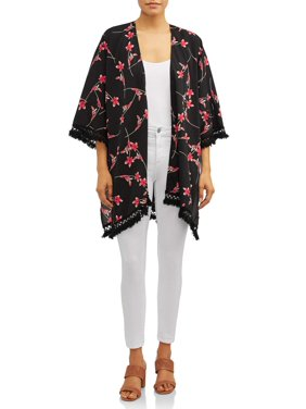 44ccf71414aa Product Image Women's Crochet Trim Floral Kimono
