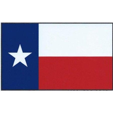 State Flag Bumper Sticker - 5in x 3in Black Border Texas State Flag Bumper Sticker Decal Car Stickers Decals