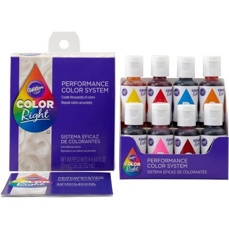 Wilton 5oz Color Right Concentrated Food Coloring Set