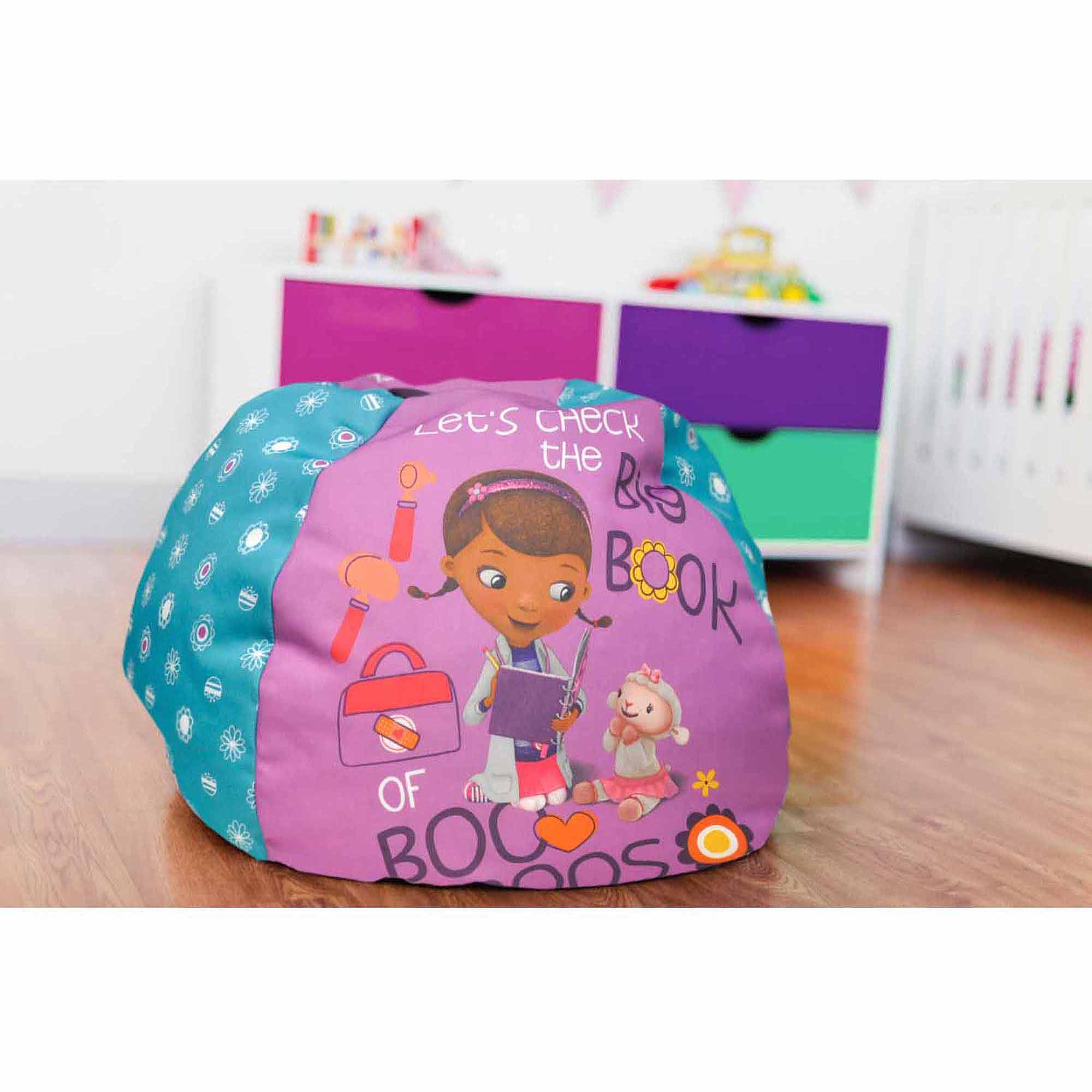 Disney Doc McStuffins Round Bean Bag