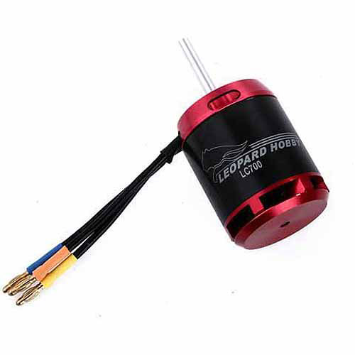 Leopard Motor Brushless Outrunner 550Kv for 700 Size RC Helicopters