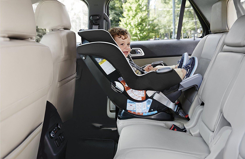 Graco Extend2Fit Convertible Car Seat, Gotham - Walmart.com