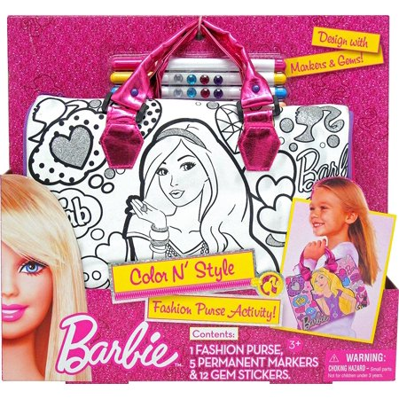 Tara Toy Barbie Color N Style Handbag, Great for travel By Tara Toys Ship from US