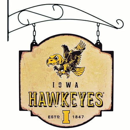 Iowa Hawkeyes Official NCAA 16 inch x 16 inch  sign by Winning Streak