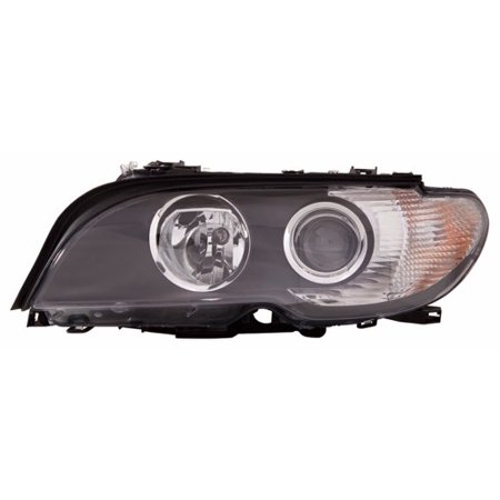 Go-Parts » 2004 - 2006 BMW 330Ci Front Headlight Headlamp Assembly Front Housing / Lens / Cover - Left (Driver) Side - (2 Door; Coupe) 63 12 7 165 907 BM2518112 Replacement For BMW 330Ci