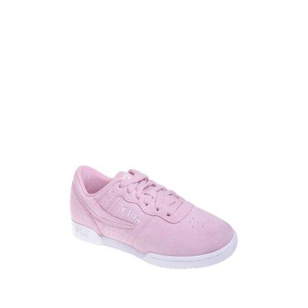 758769e87373 FILA Original Fitness Premium Sneaker - Pink Suede - Walmart.com