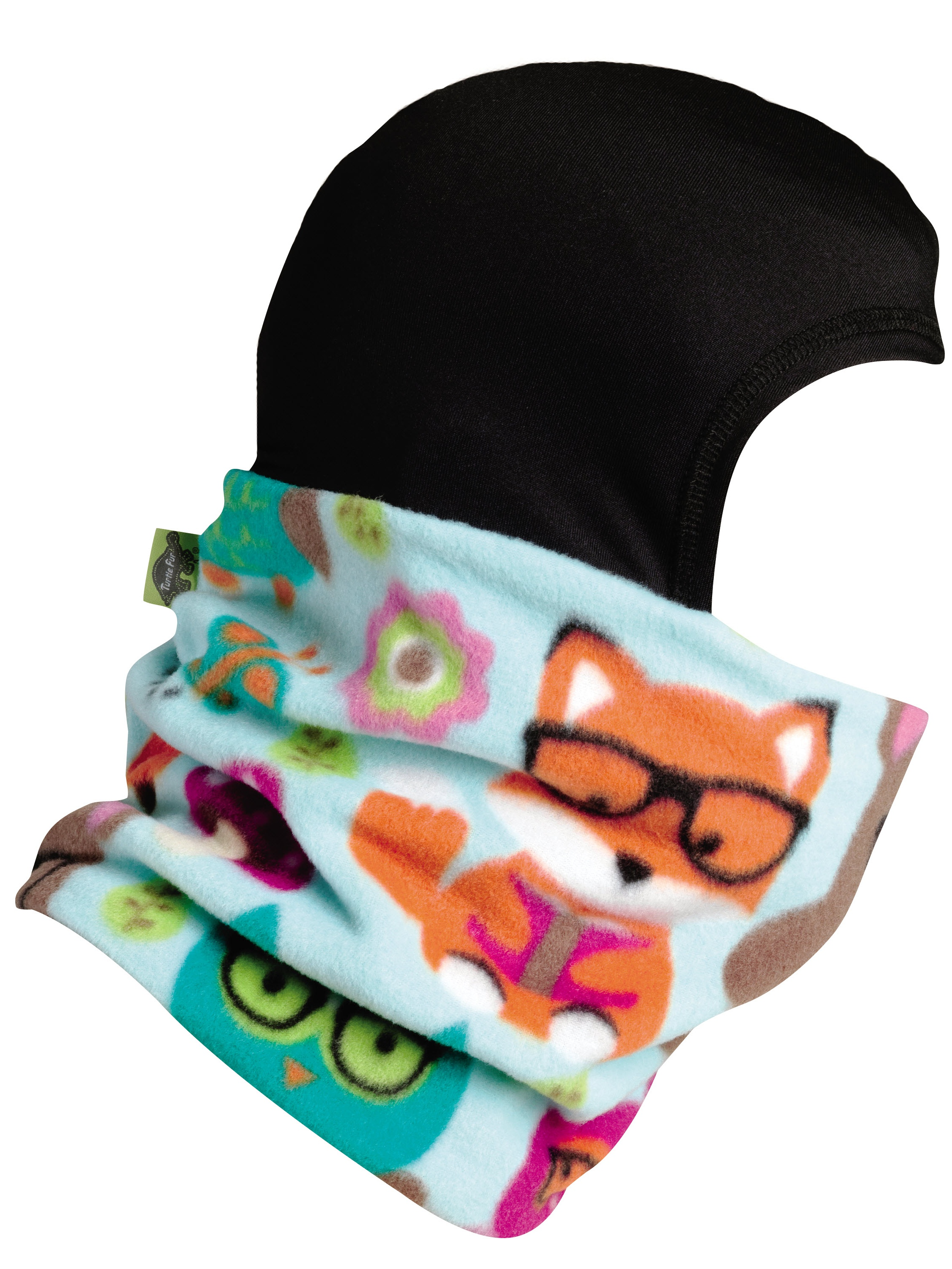 Turtle Fur Kids Shellaclava One Piece Balaclava Playful Print Fleece Neck Warmer by Turtle Fur