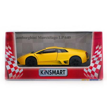 5  Die Cast  Lamborghini Murcielago Lp640  Yellow