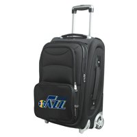 "Utah Jazz 21"" Softside Rolling Carry-On Suitcase - Black - No Size"