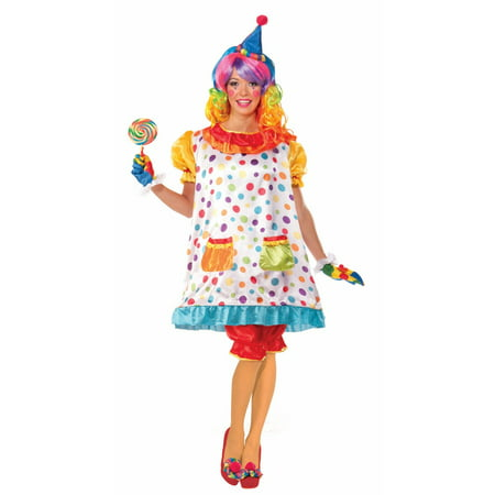 Halloween Wiggles The Clown Adult Costume - Crazy Clown Costume