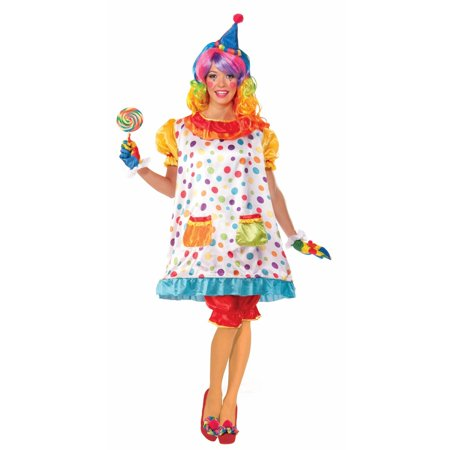Halloween Wiggles The Clown Adult Costume - Clown Jumpsuit Costume