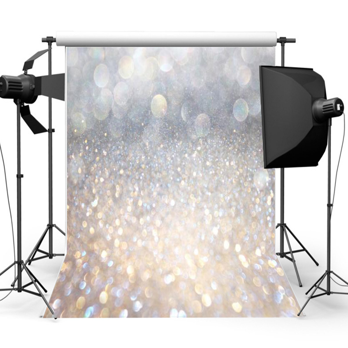 5x7ft Christmas Photography Vinyl Fabric Backdrop Background Photo