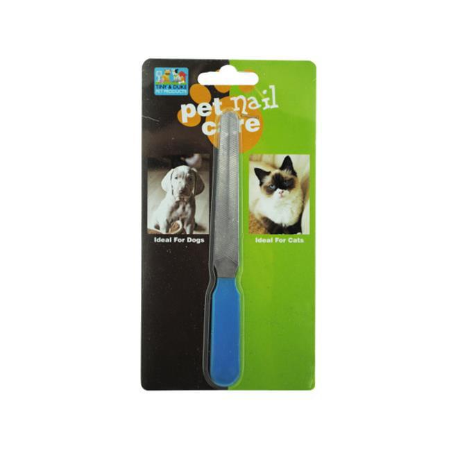 Bulk Buys DI412-24 Pet Nail File