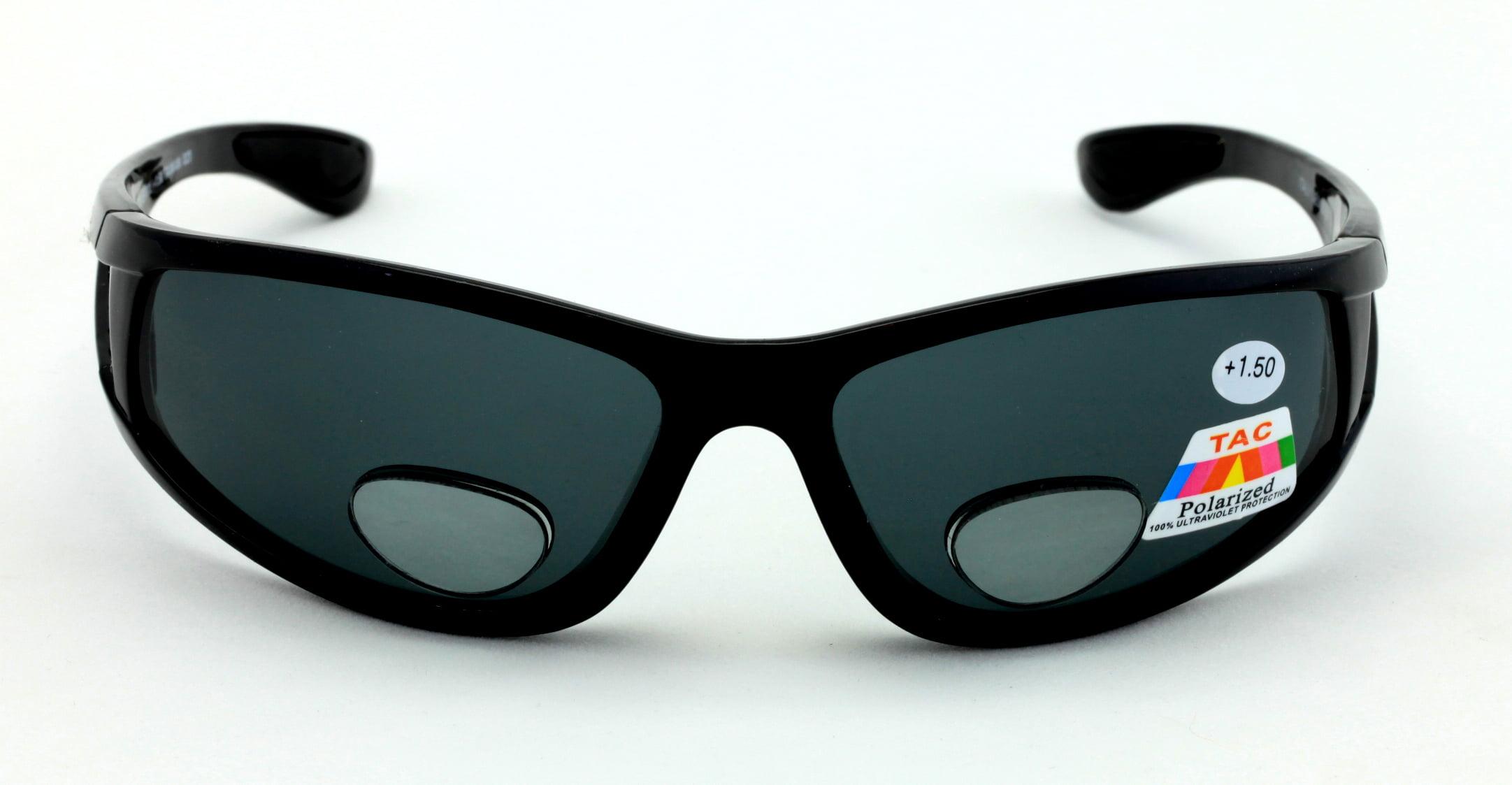 619339c4934 V.W.E. - Mens Polarized fly fishing sunglasses with Rx magnification bifocal  lens readers bi-focal reading - Walmart.com