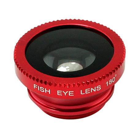 3-in-1 Multifunctional Phone Lens Kit Fish Lens+Macro Lens + Wide Angle Lens - image 3 de 5
