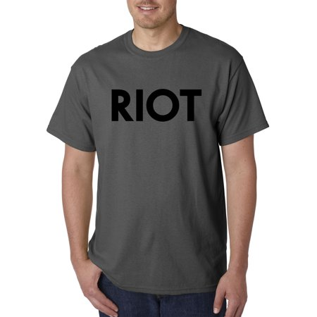 New Way 924 - Unisex T-Shirt RIOT Always Sunny Philadelphia Mac Political 4XL (Mighty Mac Shirt)