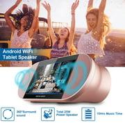 "Kocaso 7"" Tabletop Tablet/Speaker Touch Screen Stereo Speakers  WiFi Tablets Stereo Audio Tablet"