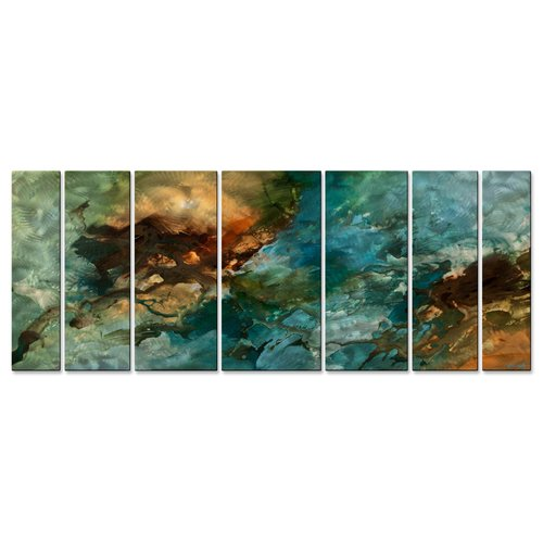 All My Walls The Landing by Osnat 7 Piece Painting Set
