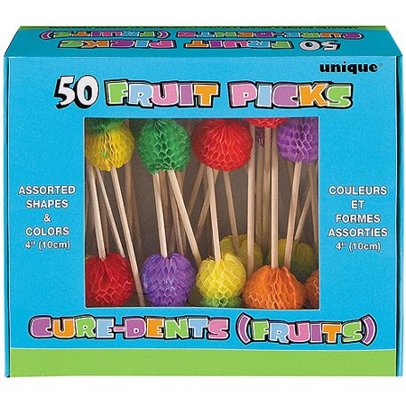 Tropical Fruit Toothpicks, 50pk
