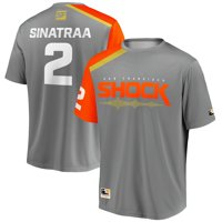 sinatraa San Francisco Shock Overwatch League Replica Home Jersey - Gray